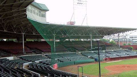 Chattanooga's Engel Stadium hosted its first game on April 15, 1930.