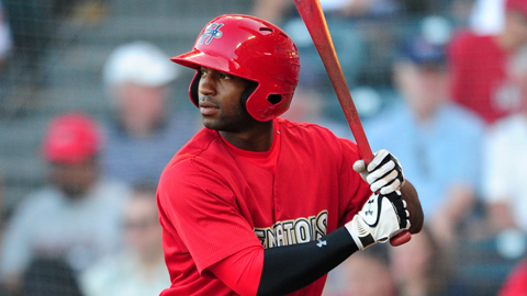 Brian Goodwin hit .280 and slugged .469 in 100 games this year.